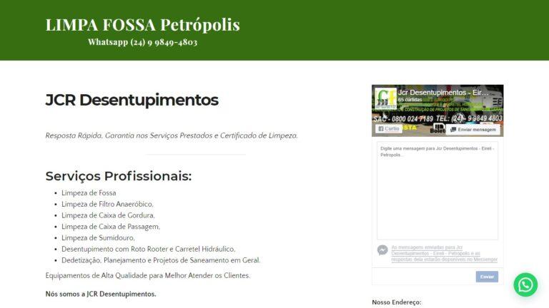 Limpa Fossa Petrópolis