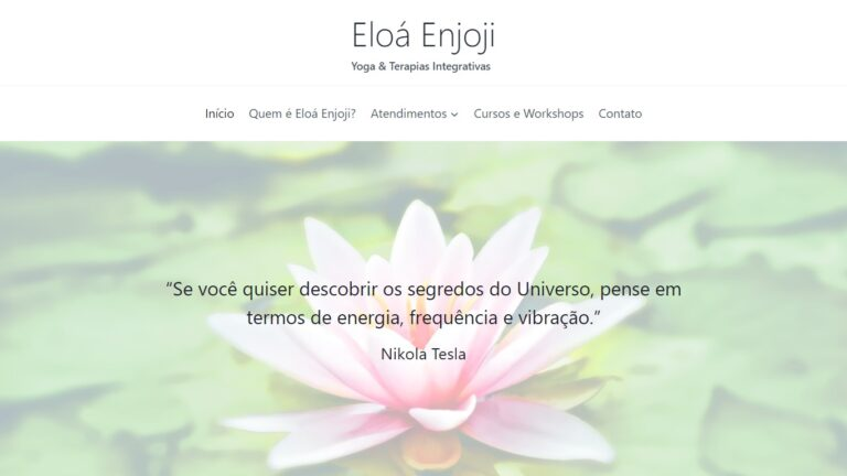 Eloá Enjoji Yoga e Terapias Integrativas